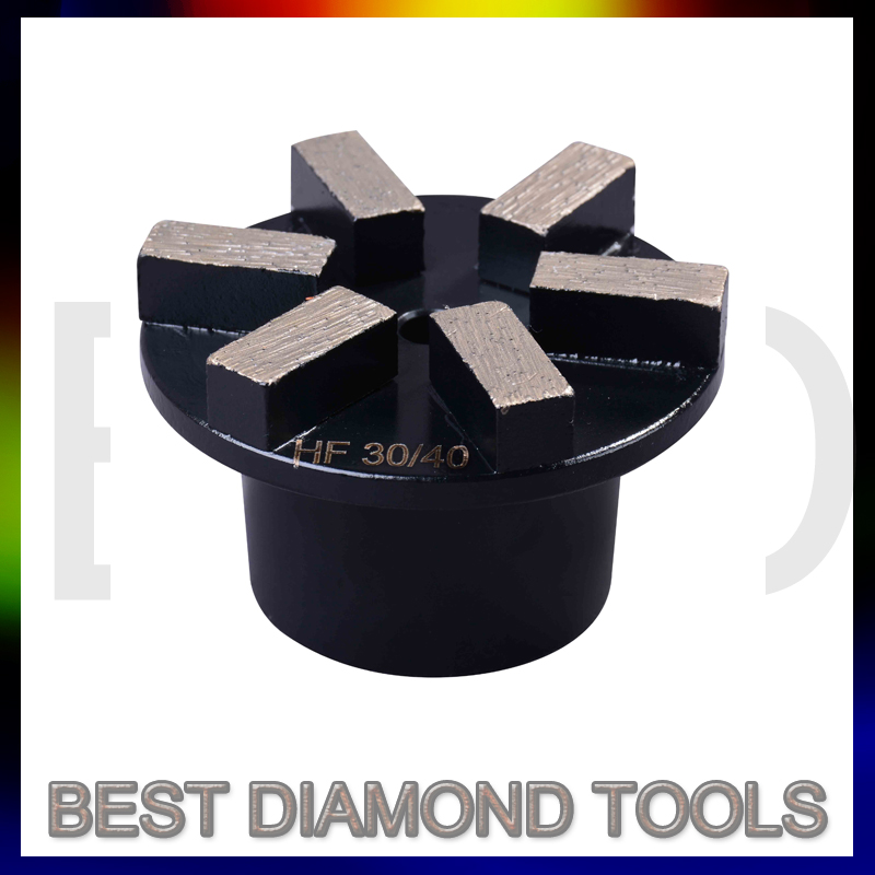 Metal Concrete Grinding Plate Tools For Floor Surface Grinder