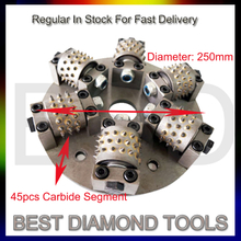 Diamond Bush Hammer Tool