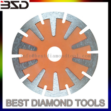 125*10mm Manufacture T shape Segmented Diamond Saw Blades Disco