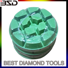 resin concrete diamond polishing pad