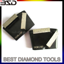 Metal Diamond HTC Grinding Pads Metal Base For HTC Floor Grinder
