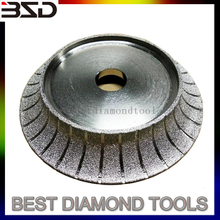 Vacuum Brazed Stone Diamond grinding Profile Wheels