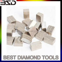Diamond diamond segment for cutting stone Volcanic stone