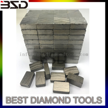 long life diamond segment for lava stone cutting