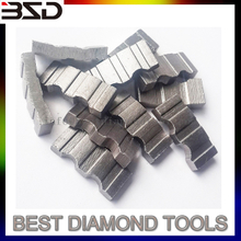 manufacturer diamond core bit segment for concrete granite and marble