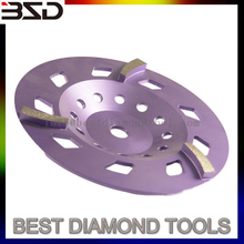 Diamond grinding disc / cup wheel for floor restoration