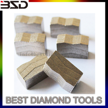 Professional granite cutting segment diamond segment for granite