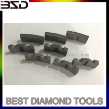 repair of diamond segments drill bits