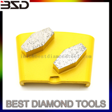 Most Popular HTC diamond metal bond grinding pads For Concrete floor