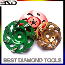 diamond grinding cup wheel disc for concrete gmt diamond turbo cup wheel rain drop shape
