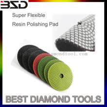 Super Flexible Resin Diamond Polishing Pad