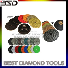 "3"" 4"" 5"" High Gloss Polishing Pad for Granite, Marble, Concrete"