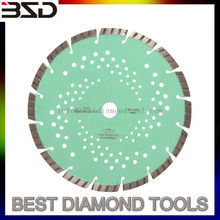 "5"" 7"" Diamond Saw Blade Slant Slot Laser High Frequency Blade cutter blade"
